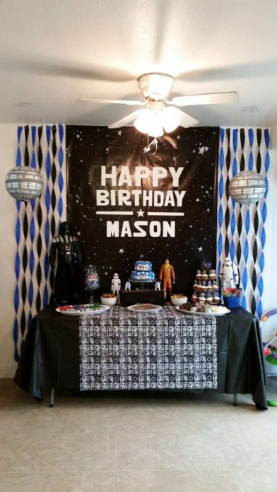 Star Wars Birthday Party Decoration Ideas