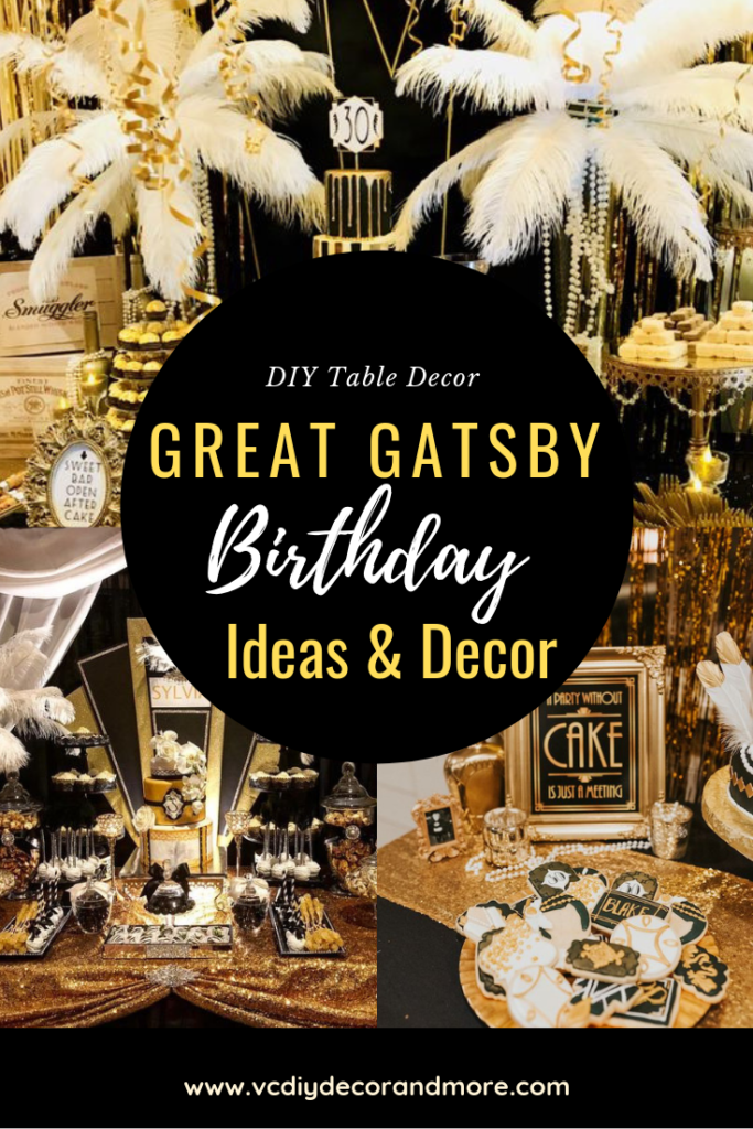 Great Gatsby Party Decorations & Ideas For A DIY Gatsby