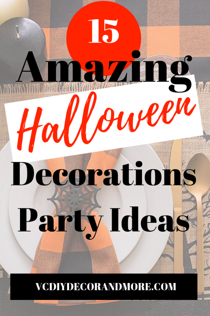 halloween decorations and halloween party ideas for the perfect diy halloween party
