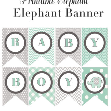 Baby Shower Printables For Girls And Boys Archives Vcdiy