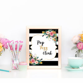 graphic about Sip Sip Hooray Printable named Bridal Shower Printables Archives - Webpage 4 of 4 - VCDiy