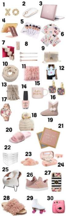 christmas gifts ideas for teen girls in 2018