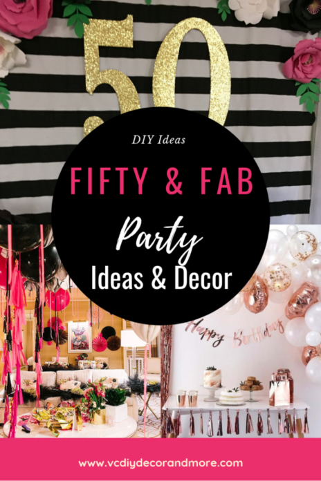 50th Birthday Party Ideas For Women Turning 50
