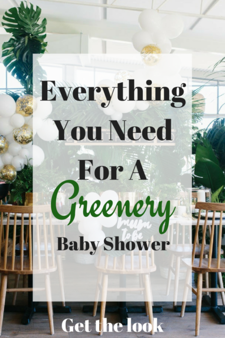 Greenery Baby Shower Ideas Diy Greenery Decorations For A