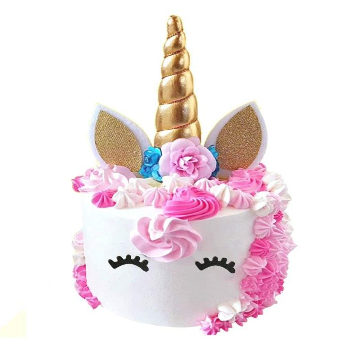 Unnicorn Birthday Party Cake Topper For A Unicorn First