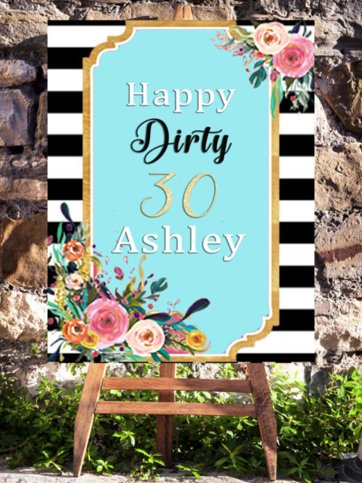 30th Birthday Party Decorations Ideas For Women Turning 30