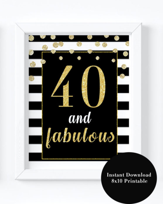 Fabulous And Forty Decorations 25 Best Ideas About 40 Birthday