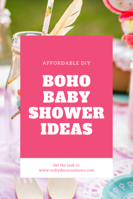 Bohemian Baby Shower Ideas For A Diy Boho Chic Baby Shower Vcdiy Decor And More