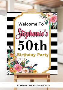 50th Birthday Ideas For Women Turning 50 Themes
