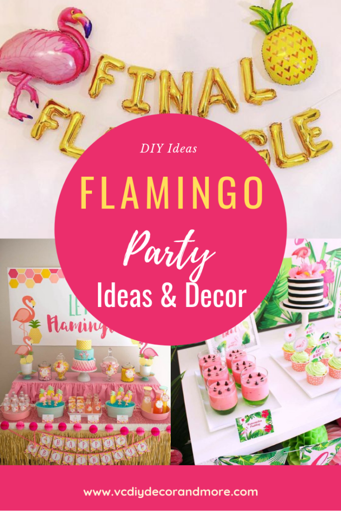 Flamingo Party Decorations Ideas For A Diy Birthday Or