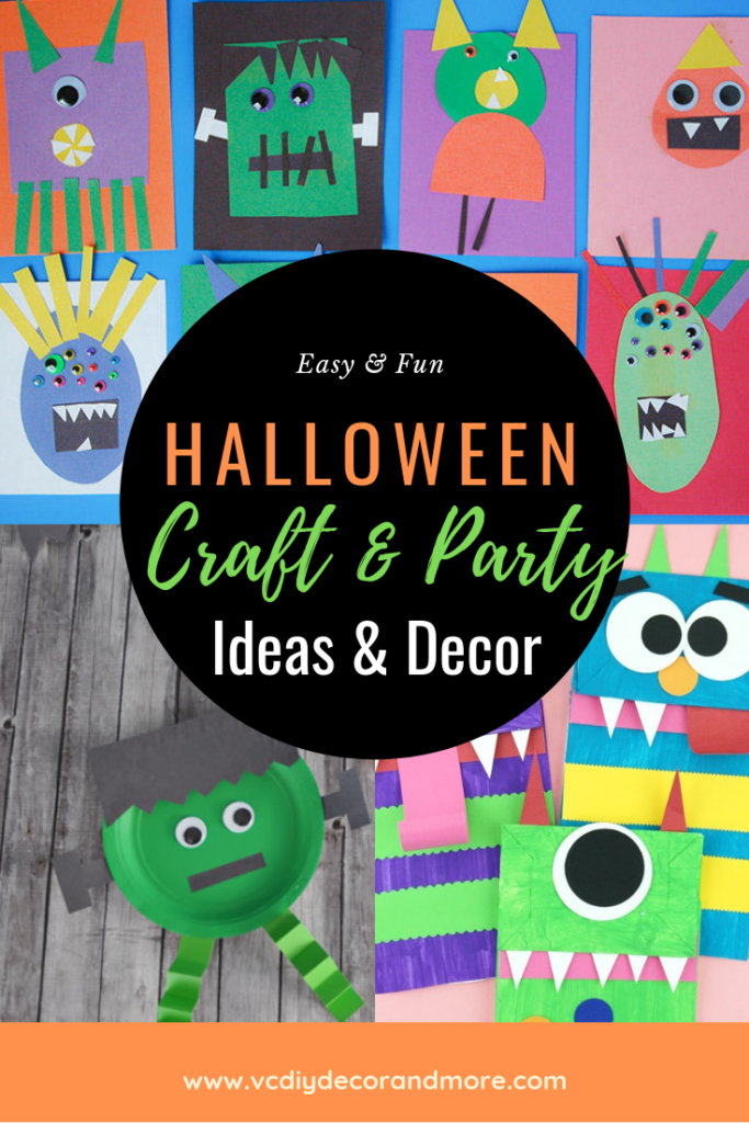 45 Halloween Crafts For Kids Easy Halloween Party Ideas For Kids