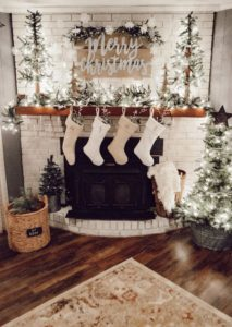 Living Room Christmas House Decorations Inside.2019 Christmas Decoration Ideas For The Home Indoor