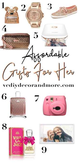 Womens Christmas Gifts 2020 45 Affordable & Cheap Christmas Gifts For Her 2020 Edition   VCDiy